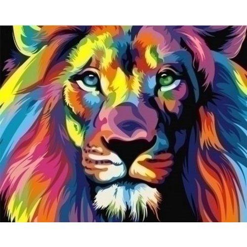 Artventura Regenboog Leeuw