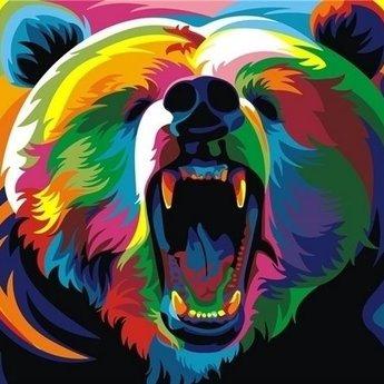 Artventura Regenbogen Bär