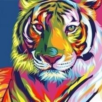 Artventura Rainbow Tiger
