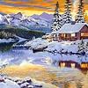 Artibalta House in the Winter