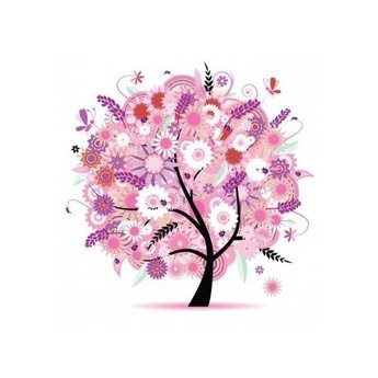 Artibalta Tree in Pink Colours