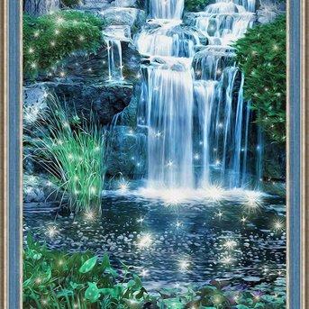 Artibalta Schijnende Waterval