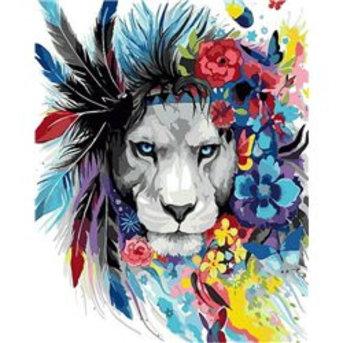 Artventura Colourful Lion