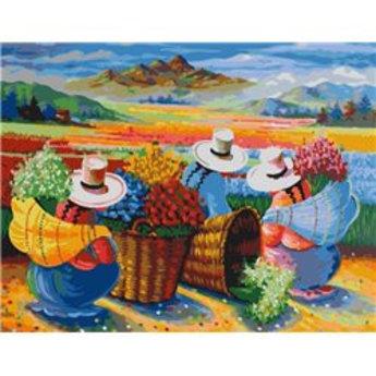 Artventura Collecting Flowers in Peru