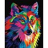 Artventura Regenboog Wolf