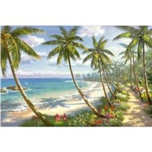 Artibalta Palmbomen op het Strand