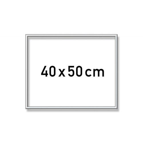 Aluminium liste- 40 x 50 cm Silber