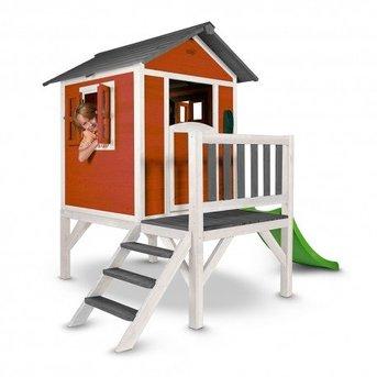 AXI Speelhuis Lodge XL (Scandinavisch Rood)