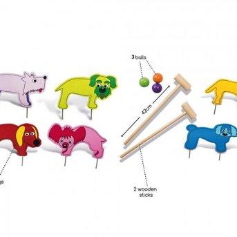 Buitenspeel Wooden Crocket for children (Jr.)
