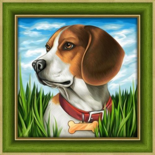 Artibalta Diamond painting Beagle