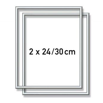 Schipper Aluminum frame - 2X  24x30 cm Silver