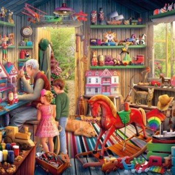Gibsons Toymaker's Workshop