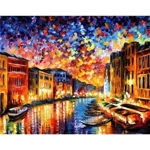 Diamond painting Canal Grande Venetie