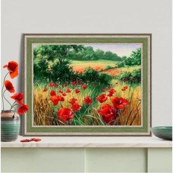 Artibalta Poppies In The Field