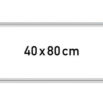 Aluminium list - 40 x 80 cm