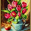 Schipper A bunch of tulips