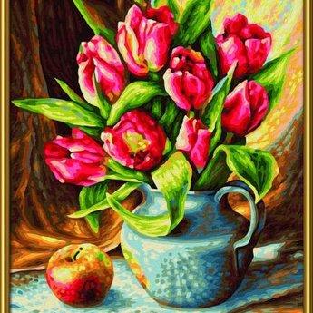 Schipper Een Bos met Tulpen