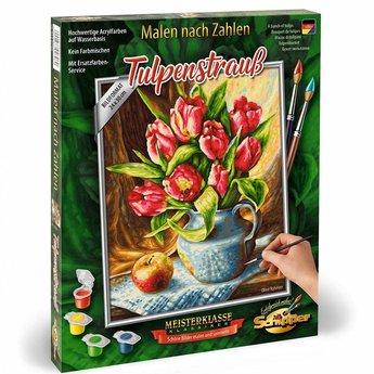 Een Bos met Tulpen