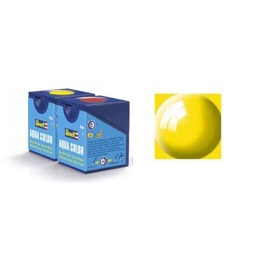 Revell Aqua Color: 012, Yellow (Glanz)