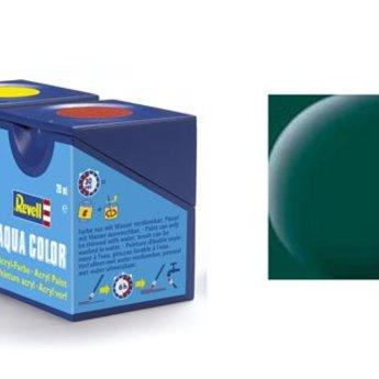 Revell Aqua Color: 039 Dunkelgrün (matt)