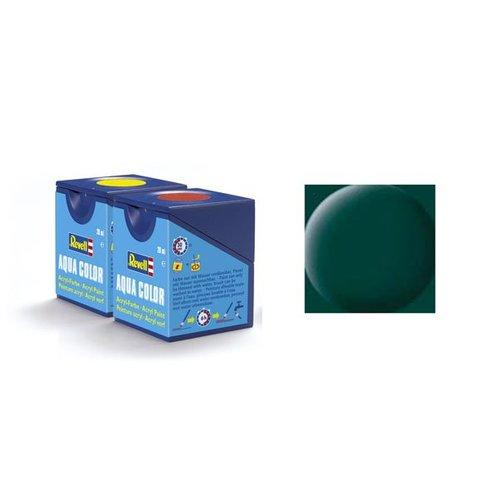 Revell Aqua Color: 040 Schwarz Grün (mat)