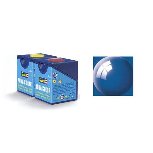Revell Aqua Color : 051, Ultramarineblauw (hoogglans)