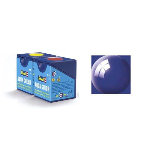 Revell Aqua Color: 052, Blue (glänzend)