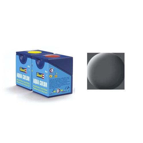 Revell Aqua Color: 074, Kampfhubschrauber grau (matt)