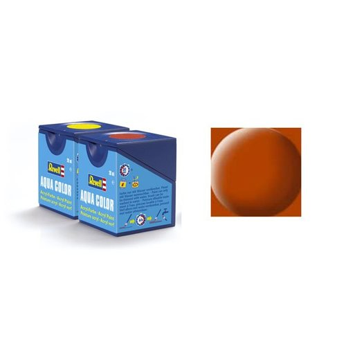 Revell Aqua Color 085, Brown (mat)