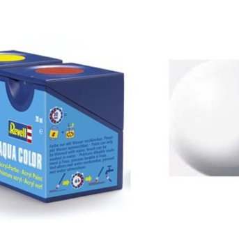 Revell Aqua Color : 301, Wit (zijdemat)
