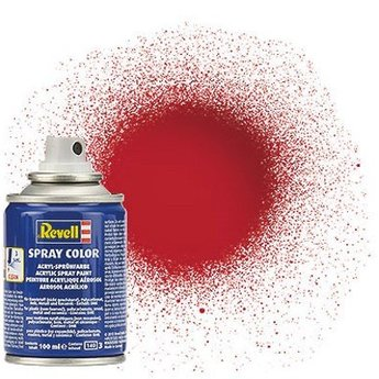 Revell Spray Color: 034 Ferrari-red (glossy)