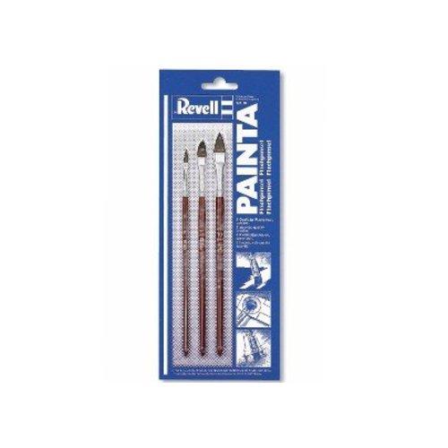Revell Painta vlakke penselen set