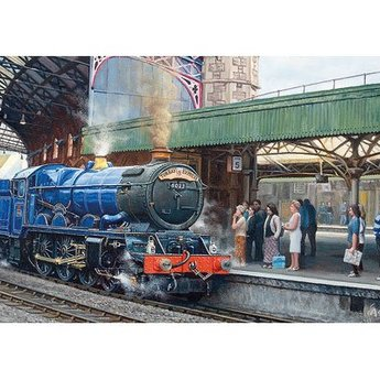Gibsons Ankunft in Temple Meads