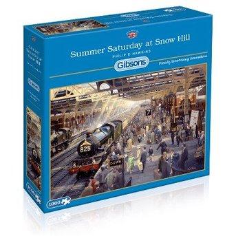 Gibsons Sommer-Samstag um Snow Hill