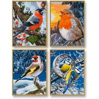 Schipper Wintervogels