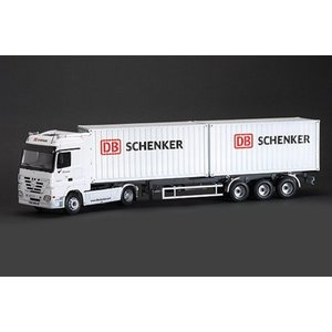 "Italeri Mercedes-Benz Actros with 2 x 20"" Containers Trailer DB Schenker"