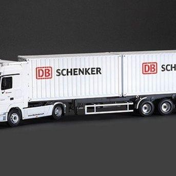 "Italeri Mercedes-Benz Actros with 2 x 20"" Containers Trailer DB Schenker"