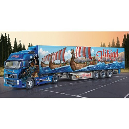 Italeri Volvo FH16 XL Viking with Reefer Trailer