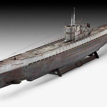 Revell Deutsch Submarine Typ IXC (U 505 spät)