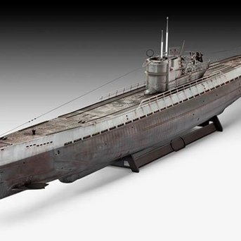 Revell German Submarine Type IXC (U 505 late)