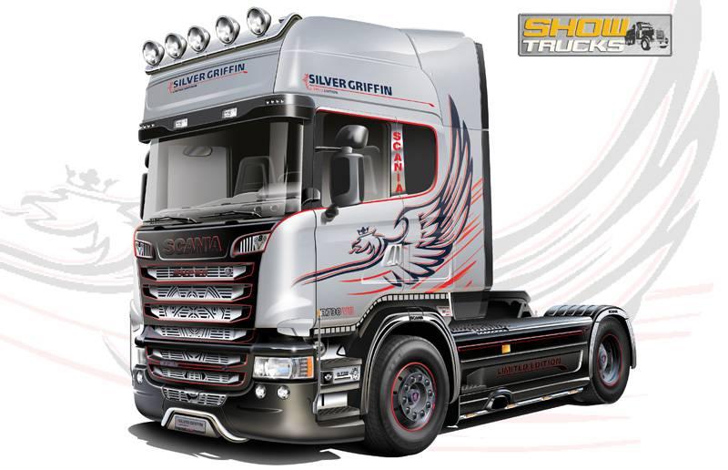 Italeri Scania R730 V8 Streamline