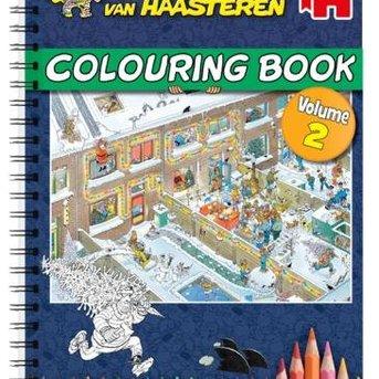 Jan van Haasteren - Malbuch - vol. 2