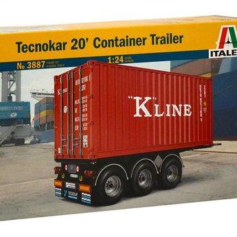 Italeri Tecnokar 20 'Container Trailer