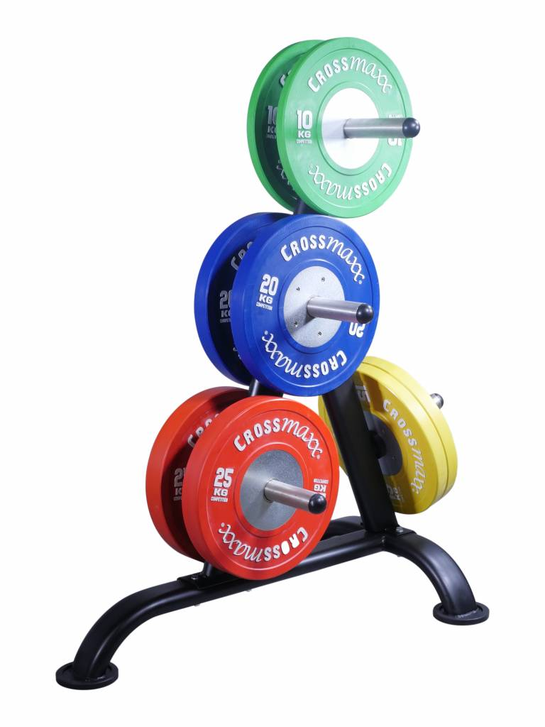 Lifemaxx® LMX1030.50W Weightplate rack for 50mm discs (black)
