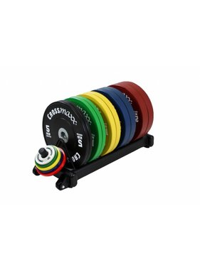 Crossmaxx® LMX1031 Crossmaxx® bumper plate rack (black)