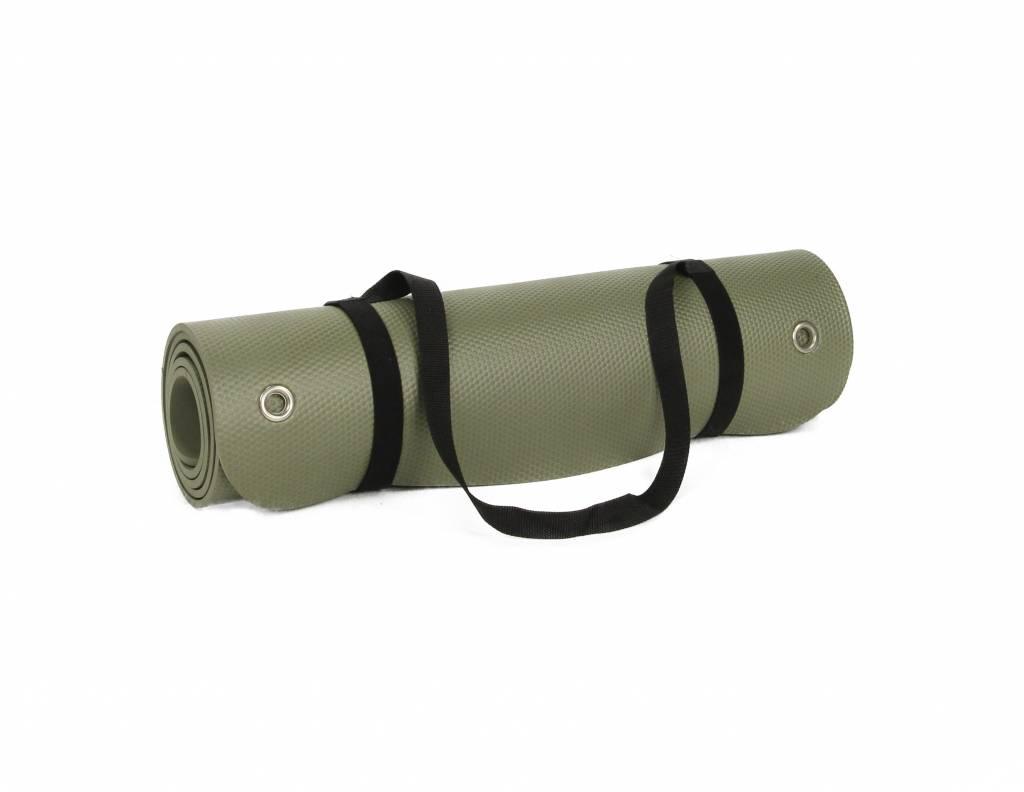 Lifemaxx® LMX1222 Pilates/yoga mat 180cm (olivegreen)
