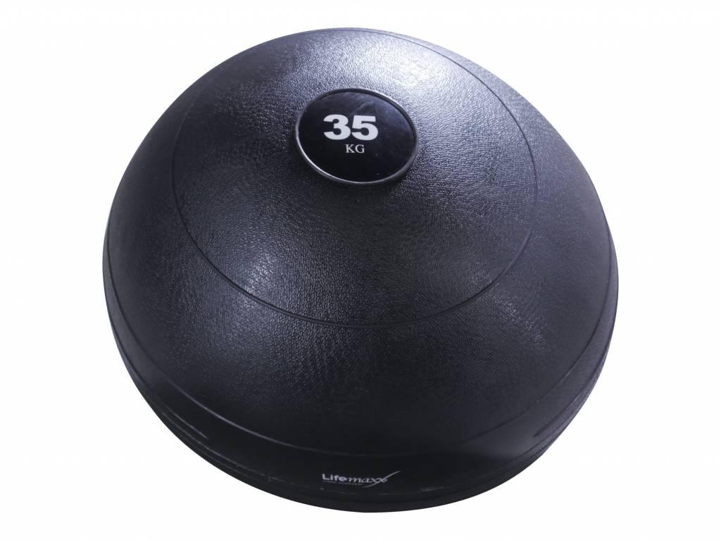 Lifemaxx® LMX1240 Slamball - black (35 - 70kg)