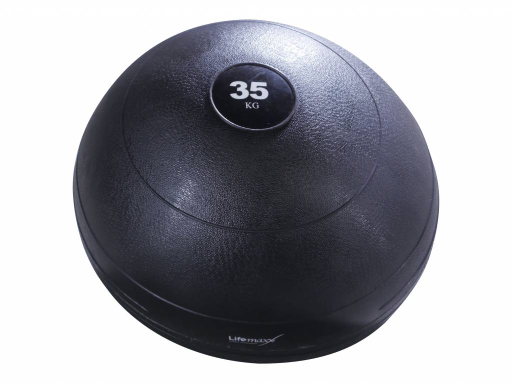 Lifemaxx® LMX1240 Slamball - black (6 - 70kg)