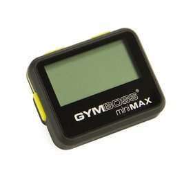 Gymboss® LMX1281 Gymboss® MiniMAX interval timer (black)