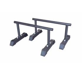 Crossmaxx® LMX1701 Crossmaxx® parallettes set (black)